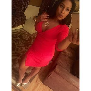 Lady in Red / Express Dress
